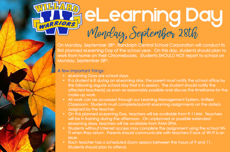 September 28th eLearning Day