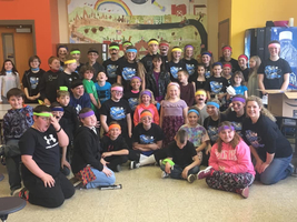 Super Sidekicks Partner with Willard Students
