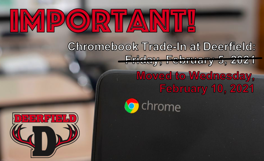 Chromebook Trade-In Rescheduled