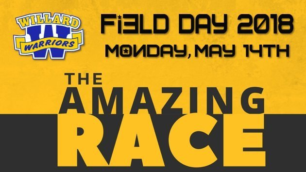 "Field Day 2018 - Monday, May 14th - ""The Amazing Race"""