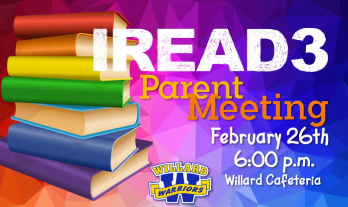 IREAD3 Parent Meeting