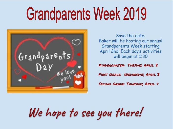 Grandparents Week 2019