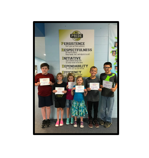PRIDE Students of the Week Aug. 23