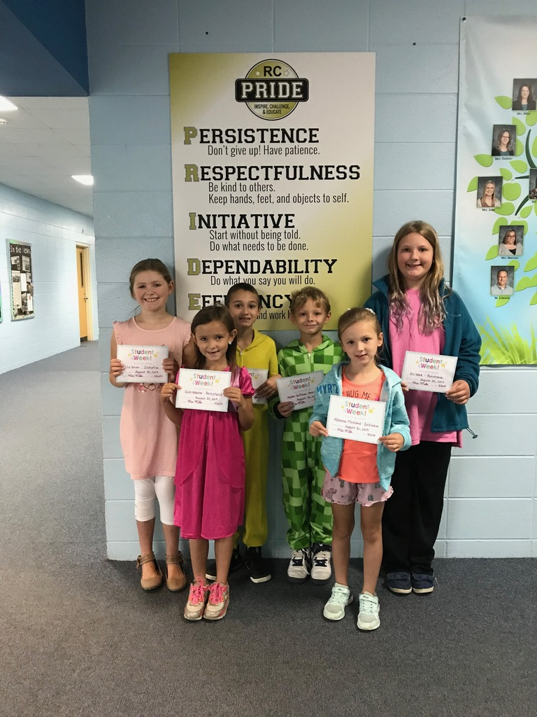 PRIDE Students of the Week