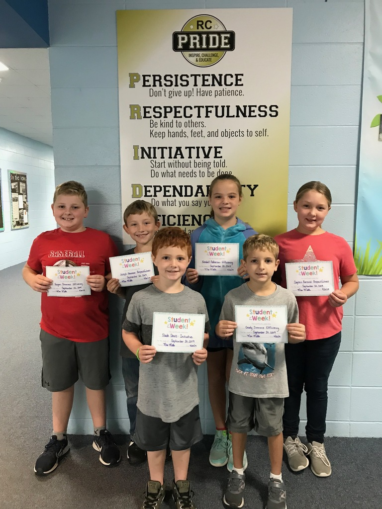 RC PRIDE Students of the Week Sept. 20