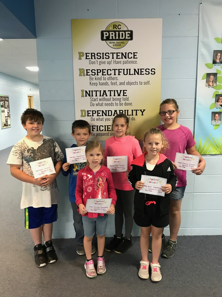 PRIDE Students of the Week Sept. 27