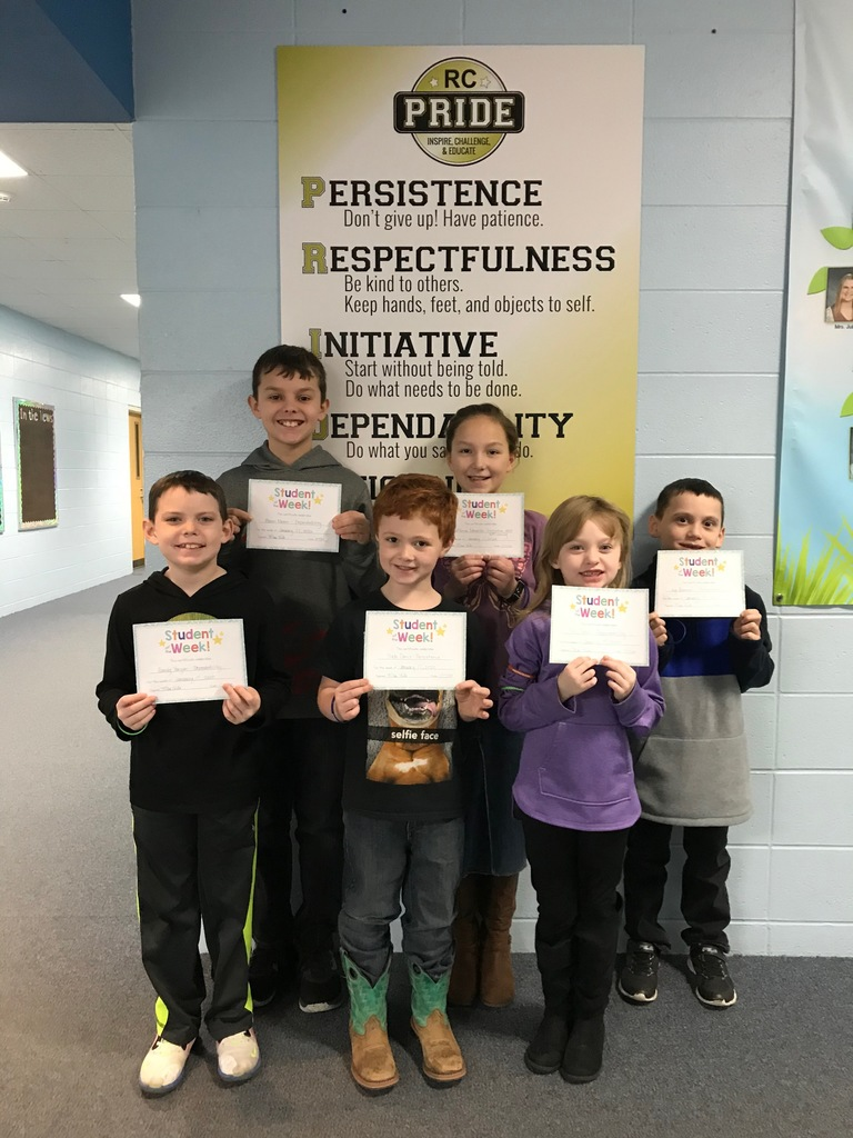 January 17 PRIDE Students of the Week