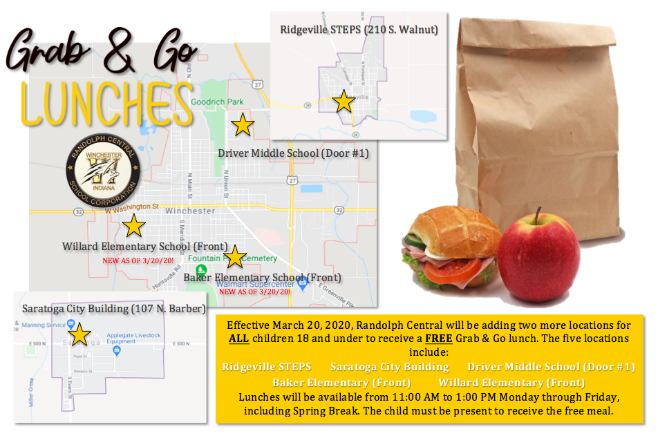 Updated Grab and Go Lunch Info