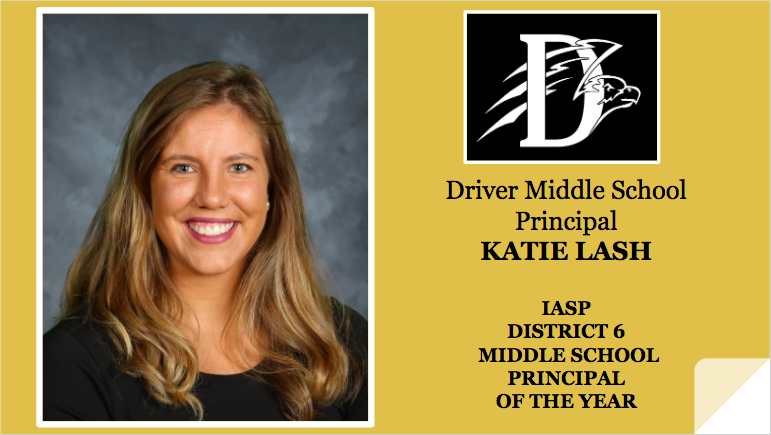 Katie Lash Principal of the Year