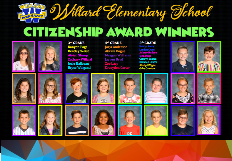 Citizenship Winners